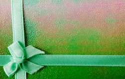 Green ribbon background Royalty Free Stock Image