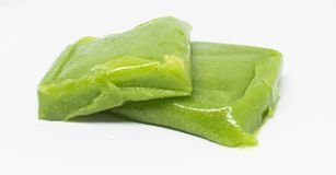 Green rice cake specialty food of Vietnam stock image