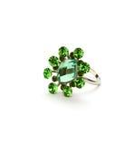 Green ring royalty free stock photo