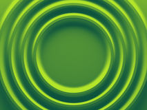 Green rings. Abstract pattern for Stock Photos