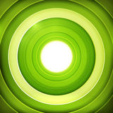 Green rings digital target Royalty Free Stock Photo