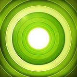 Green rings digital target Royalty Free Stock Photo