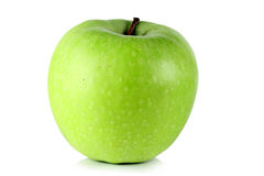 Green ripe apple Royalty Free Stock Photos