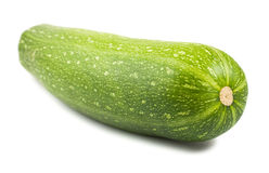 Green ripe courgette Royalty Free Stock Photos
