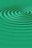 Green ripples Stock Images