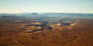 Green River übersehen, Canyonlands, UT Lizenzfreie Stockfotografie
