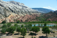 Green River, Колорадо Стоковое Изображение
