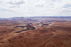 Green River на национальном парке Canyonlands Стоковые Фотографии RF