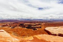 Green River обозревает, национальный парк Canyonlands, Юта, США Стоковые Изображения RF