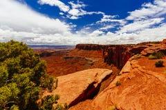 Green River обозревает, национальный парк Canyonlands, Юта, США Стоковое Фото