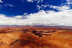 Green River обозревает, национальный парк Canyonlands, Юта, США Стоковые Фото