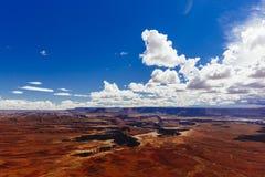 Green River обозревает, Canyonlands, национальный парк, Юта, США Стоковая Фотография