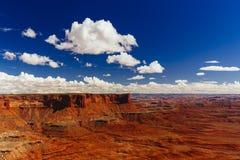 Green River обозревает, Canyonlands, национальный парк, Юта, США Стоковые Фотографии RF