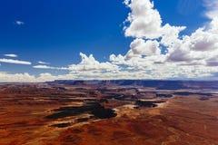 Green River обозревает, Canyonlands, национальный парк, Юта, США Стоковые Фото