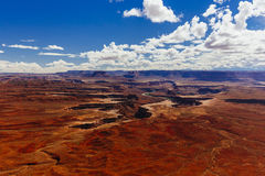 Green River обозревает, Canyonlands, национальный парк, Юта, США Стоковое Изображение