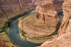The green river. Stock Photo