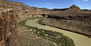 Green River Стоковые Фотографии RF