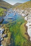 Green River in Avila Lizenzfreie Stockbilder