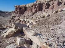 Green River Badlands Royalty Free Stock Images