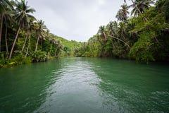 Green River Bank in Philippinen Lizenzfreie Stockfotos