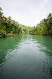 Green River Bank in Philippinen Stockfotos