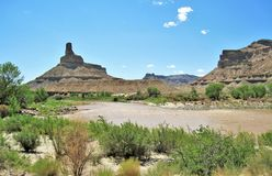Green River Royalty Free Stock Photography