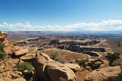 Green river canyonlands Stock Photos