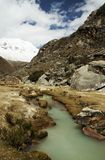 Green river in the Cordilleras Royalty Free Stock Images