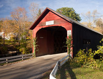 Green River Covered Bridge Stock Photography