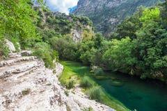 Green River dal Royaltyfri Bild