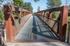 Green River gehende Brücke 4 Lizenzfreie Stockbilder