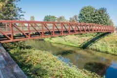Green River gehende Brücke 5 Lizenzfreie Stockfotos
