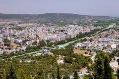 Green River i Silifke, Turkiet Arkivfoto