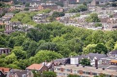 Green River i staden av Rotterdam Royaltyfri Foto