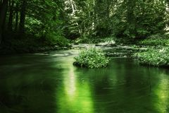 Green river Stock Image
