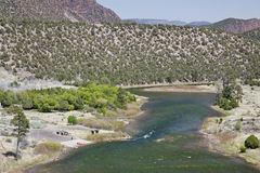 Green River at Little Hole, Utah Stock Images