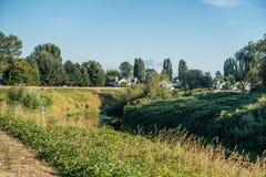 Green River Nachbarschaft Stockbilder