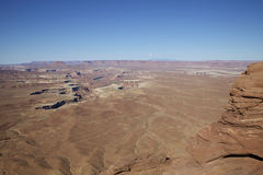 Green River Overlook. A scenic landscape of canyonlands national park near moab utah from the green river overlook Royalty Free Stock Photography