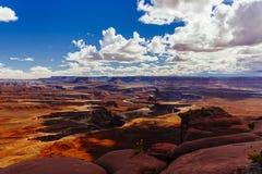 Green River Overlook, Canyonlands, National Park, Utah, USA Stock Photography