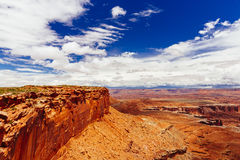 Green River Overlook, Canyonlands National Park, Utah, USA Stock Photography