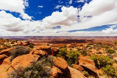 Green River Overlook, Canyonlands National Park, Utah, USA Stock Images