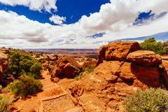 Green River Overlook, Canyonlands National Park, Utah, USA Stock Photos
