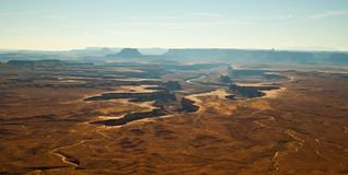 Green River Overlook, Canyonlands, UT Royalty Free Stock Photography