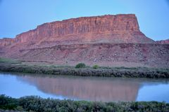 Green River sunrise Stock Image