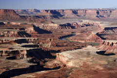 The Green River of U.S. Stock Photo