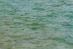Green River Wasseroberfläche mit Wellen Lizenzfreies Stockfoto