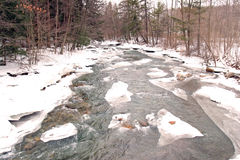 Green River in winter Stock Images