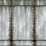 Green Riveted Metal Royalty Free Stock Image