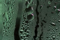 Green rivulets Royalty Free Stock Images