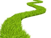 Green road stock illustration
